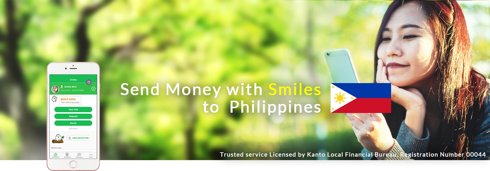Send Money Smiles To Philippines Finally Your Global Remittance Center In Mobile